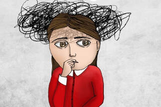 Stress and confusion in girls