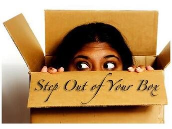 Step out of your box - you can do it!